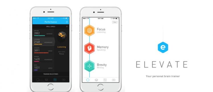 App Elevate – Faça um upgrade no seu inglês com jogos de treinamento cerebral