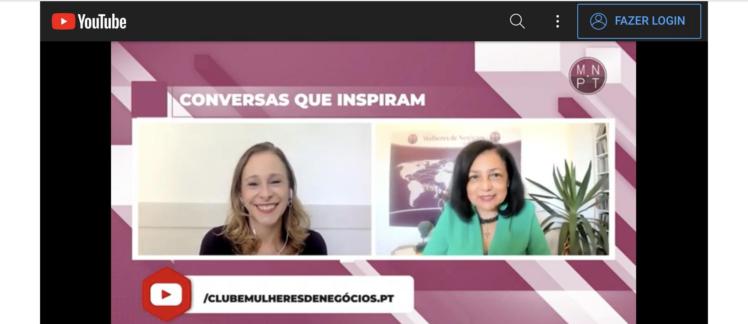 Conversas que inspiram – Entrevista Clube Mulheres de Negócio de Portugal